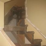 Stairway in Progress in Feeding Hills