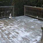 Deck in South Hadley