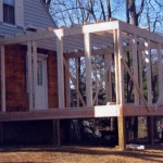 Framing 3 Season Sunroom