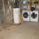 Basement before Bath & Laundry room
