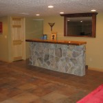 Finished Basement with Wet Bar